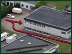 Fleischerei Müller Anlieferung Produktion